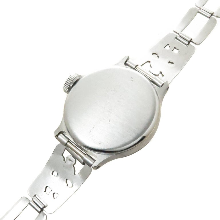 Ingersoll Mickey Mouse Manual Wristwatch with Important Provenance, 1933 In Excellent Condition For Sale In Chicago, IL