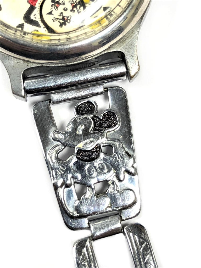 Women's or Men's Ingersoll Mickey Mouse Manual Wristwatch with Important Provenance, 1933 For Sale
