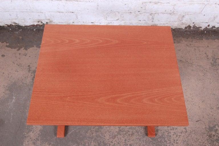 Ingmar Relling for Westnofa Bentwood Teak Siesta Occasional Side Table For Sale 1