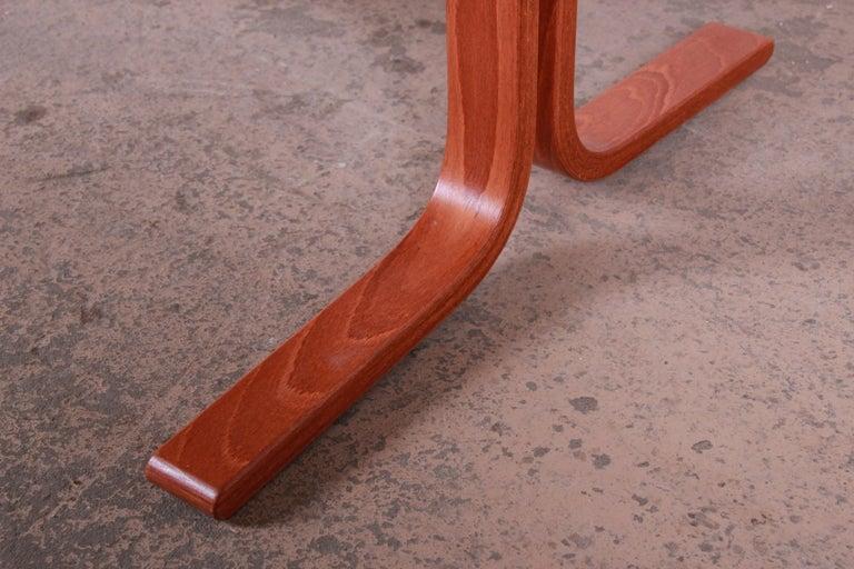 Ingmar Relling for Westnofa Bentwood Teak Siesta Occasional Side Table For Sale 3