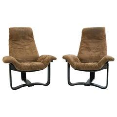 Ingmar Relling for Westnofa Manta Lounge Chairs