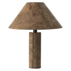 Ingo Maurer Cork Lamp for Design M, Germany, 1974