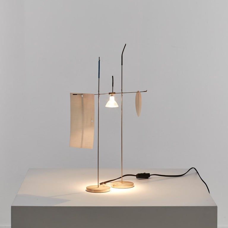 20th Century Ingo Maurer Fukushu Lamp For Sale