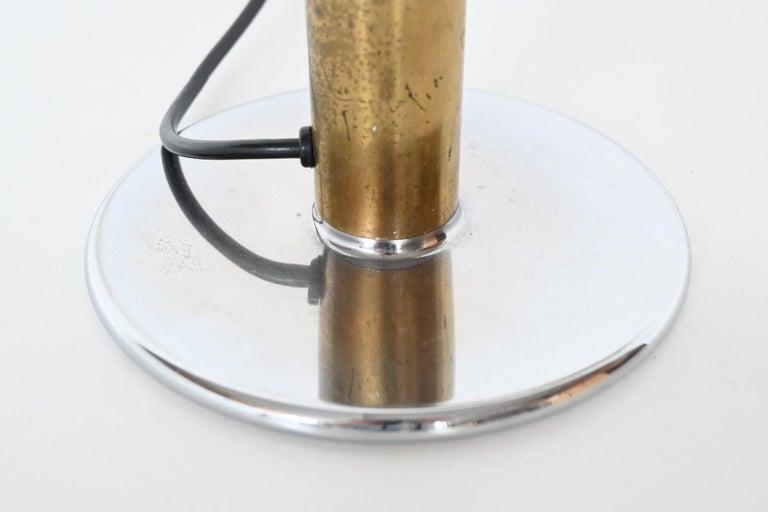 Metal Ingo Maurer Gulp Desk Lamp M Design, Germany, 1970 For Sale