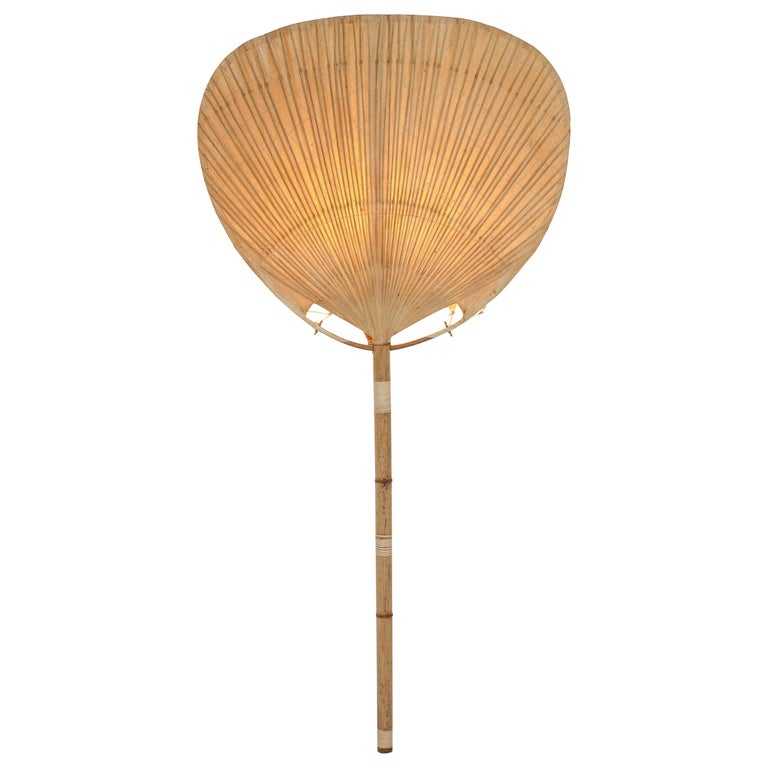Ingo Maurer for M Design Uchiwa I lamp, 1970s, offered by Modern-ID