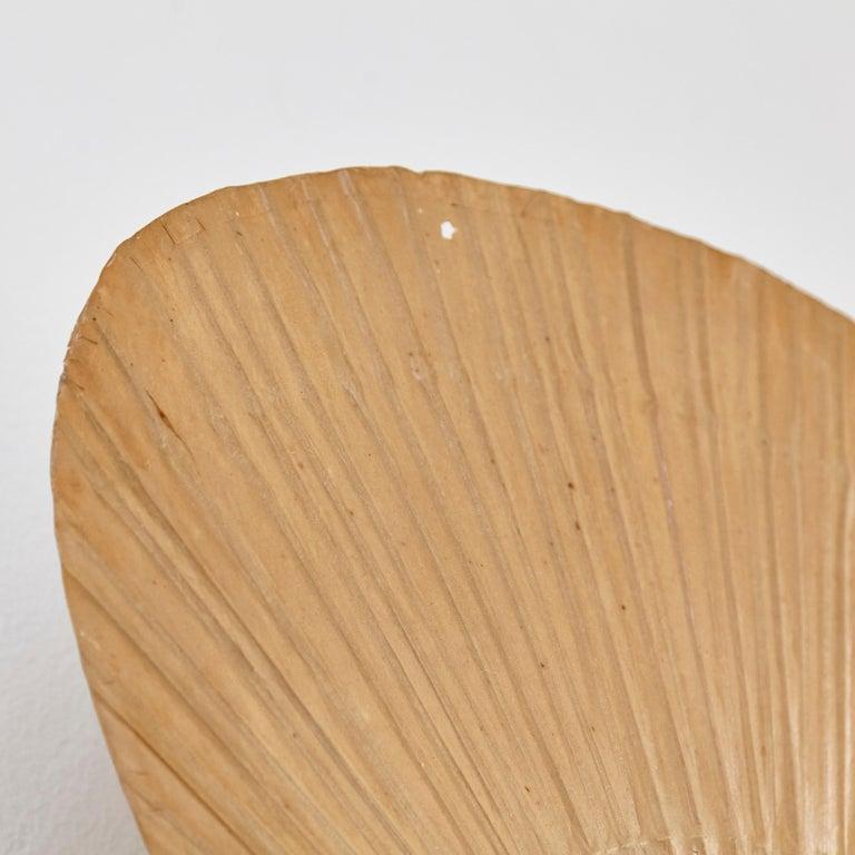 Ingo Maurer Uchiwa Mid-Century Modern Bamboo Sconce Lamp, circa 1970 For Sale 1