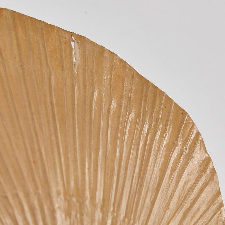 Ingo Maurer Uchiwa Mid-Century Modern Bamboo Sconce Lamp, circa 1970 For Sale 2
