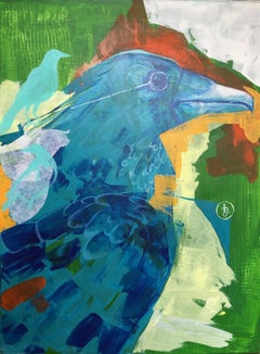 Bird by Ingrid Juncanariu Romanian Contemporary 21st Century Decorative Art