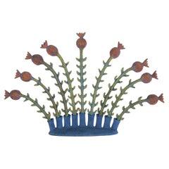 Ingrid Nicolai, Ceramic Floral Sculpture