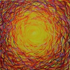 November. 2016. acrylic on canvas, 60x60 cm