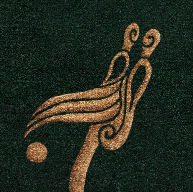 "Meaning ""island"" in Irish, Inis is from the collection of rugs and tapestries entitled"