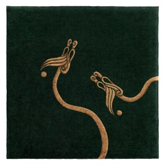 """Inis"" Limited Edition Pure Irish Wool Rug or Tapestry by Rhyme Studio"