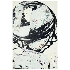 Abstract Ink, Paper Collage Head 3 from Sylvia Schuster