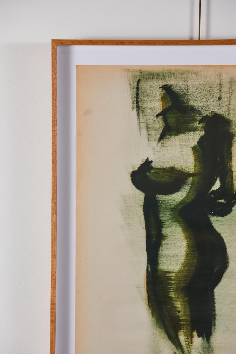 Contemporary Ink on Paper, Original Art by Greg Lauren For Sale