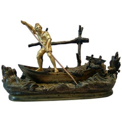 Inkstand of Neopolitan Fisherman