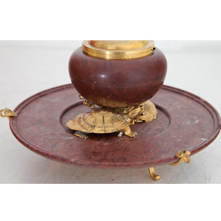 Early 20th Century Inkwell by F. Barbedienne, France, circa 1900 For Sale