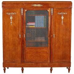 Inlaid Art Deco Bookcase