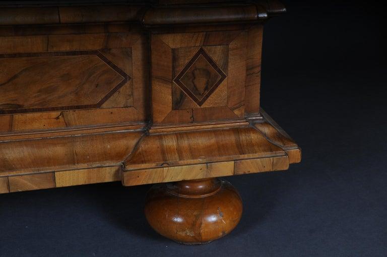 Inlaid Baroque Cabinet, Walnut, German, circa 1730 For Sale 6