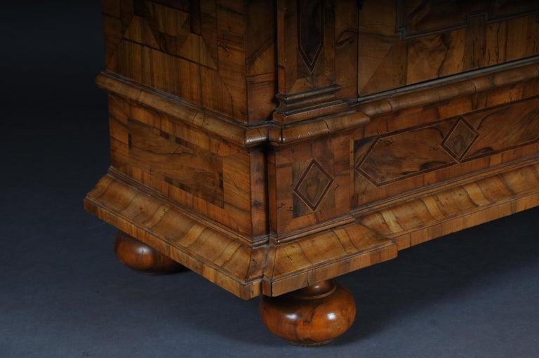 Inlaid Baroque Cabinet, Walnut, German, circa 1730 For Sale 11