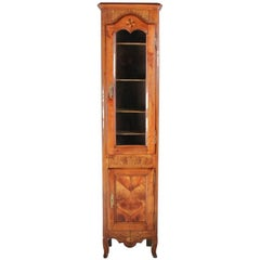Inlaid Cherry Cabinet Conversion from Clock