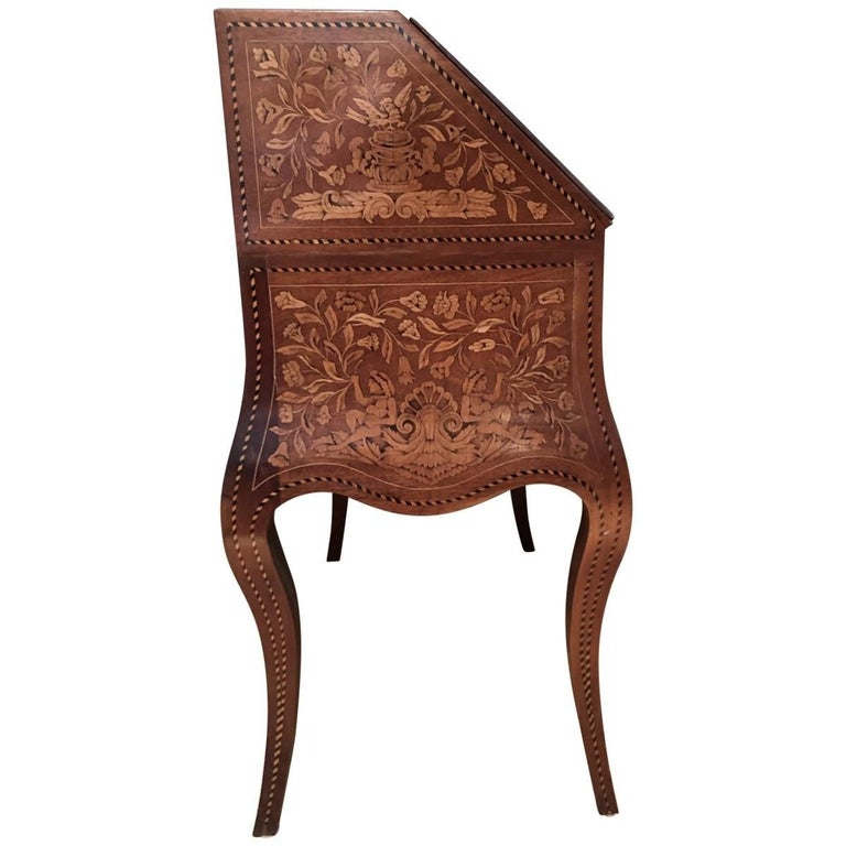 Inlaid Desk Early 20th Century For Sale 1