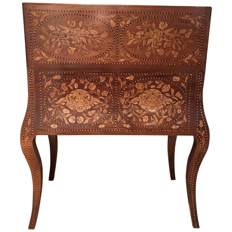 Inlaid Desk Early 20th Century For Sale 2