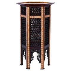 Inlaid Moroccan Stand or Pedestal