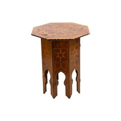 Inlaid Octagonal Table