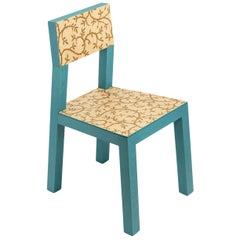 Inlay Azure Chair by Marcantonio