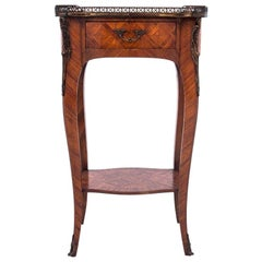 Inlayed Table, France, circa 1920, Antique