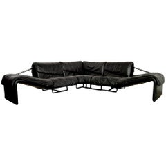 Inmotion Leather Corner Sofa by De Sede of Switzerland, 1970s