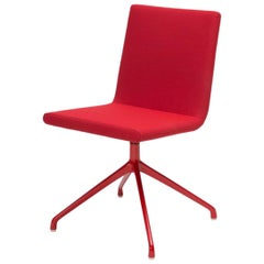 Inno Basso Red Swivel Chair Designed by Harri Korhonen