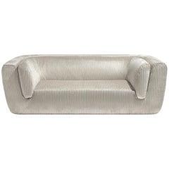 Inntil Coomba Velvet 3-Seat Sofa