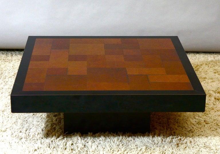 20th Century Inox Coffee Table, circa 1970 For Sale