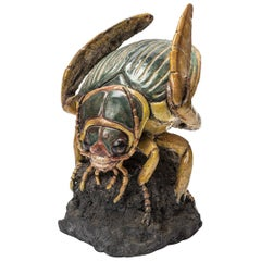 Insect Sculpture by Catherine Chaillou Ceramics