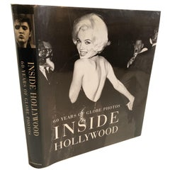 """Inside Hollywood: 60 Years of Globe Photos"" by Konemann Staff Hardcover Book"