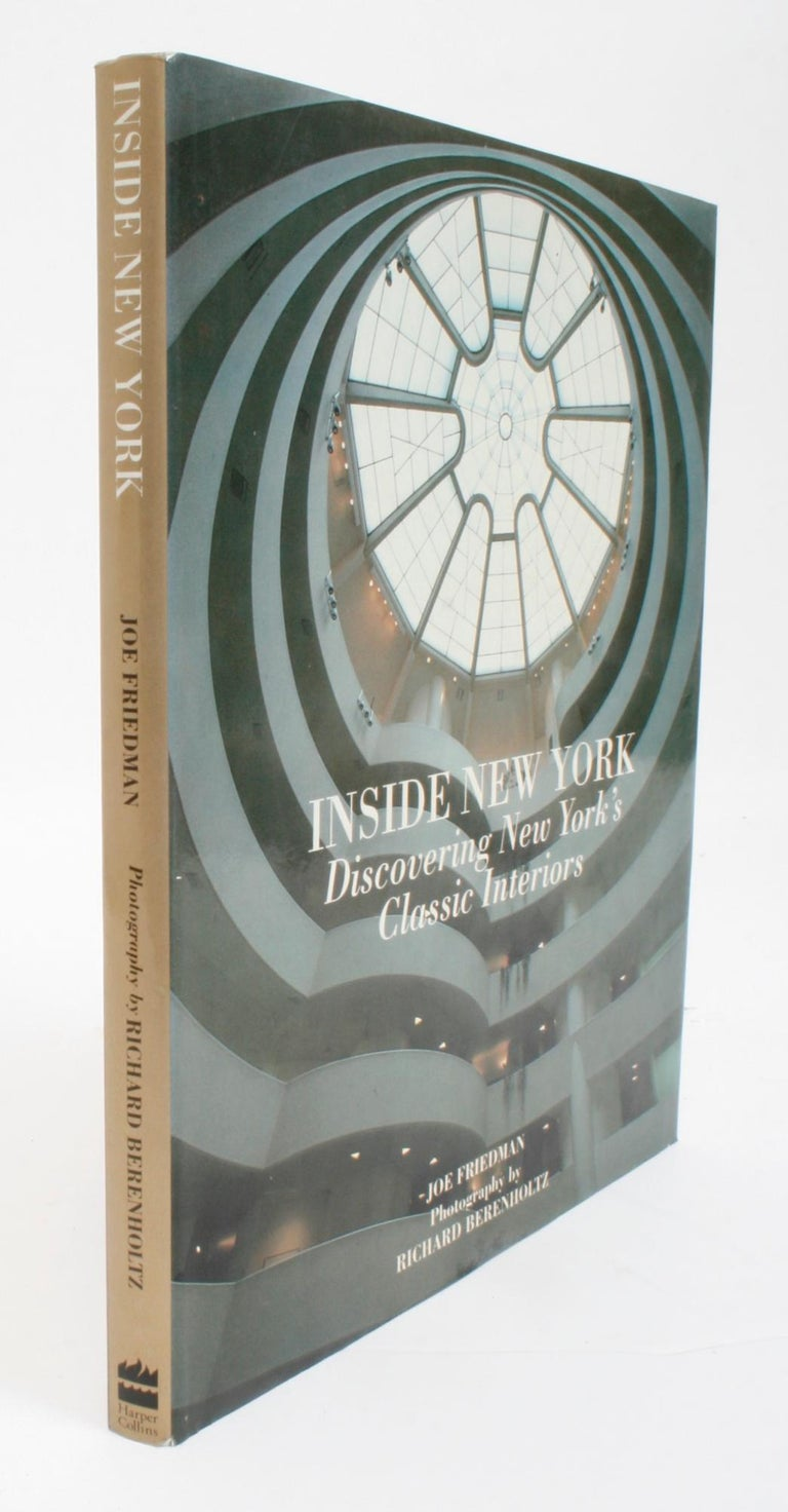 Inside New York, Discovering New York's Classic Interiors, First Edition For Sale 12