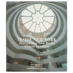 Inside New York, Discovering New York's Classic Interiors, First Edition