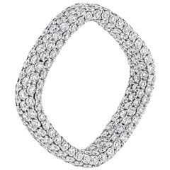 Inside-Out Pave Diamond Ring (Size 7 US)