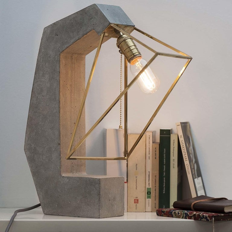 Contemporary Inside Out Table Lamp For Sale