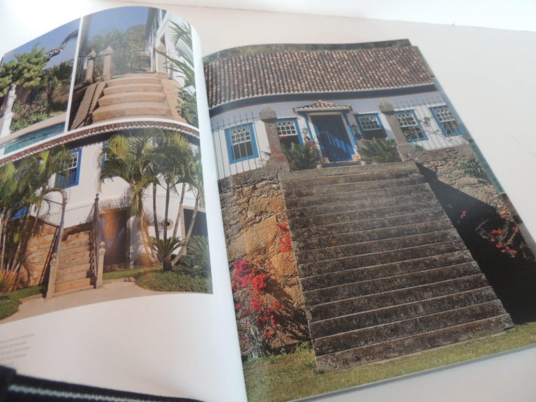 Machine-Made Inside Rio Hard-Cover Coffee Table Book For Sale