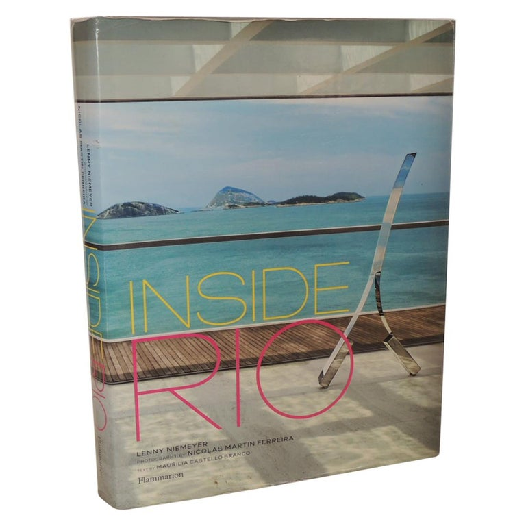 Inside Rio Hard-Cover Coffee Table Book For Sale