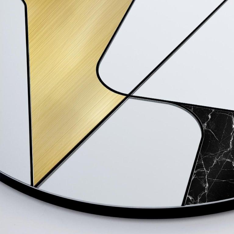 Italian Insula II Mirror by Atlas Project For Sale
