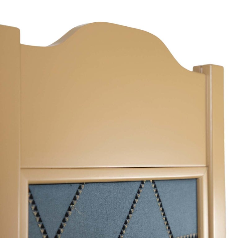 Hand-Crafted Intarsia Room Divider For Sale