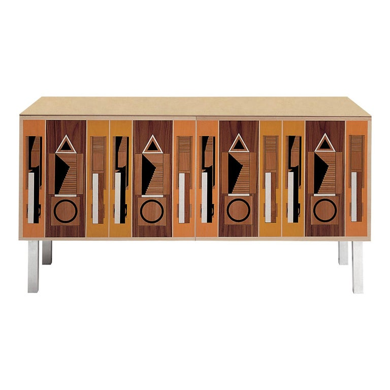 Intarsia Sideboard by Aldo Rossi For Sale