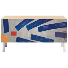 Intarsia Sideboard by Hsiao Chin