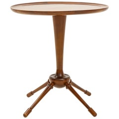 Interesting Rosewood Side Table, Probably by Frits Henningsen, circa 1950s