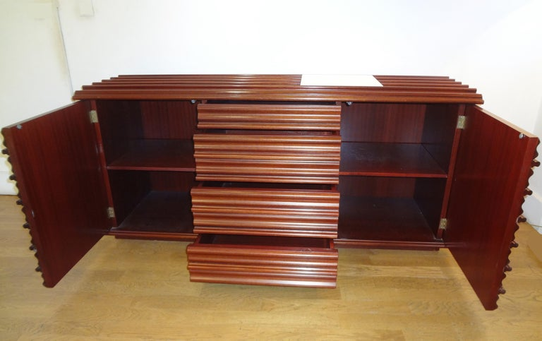 Italian Interesting Sideboard by Luciano Frigerio, circa 1975 For Sale
