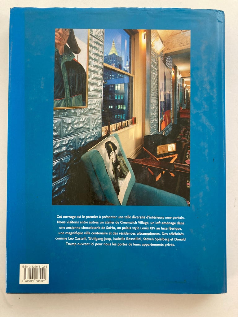 Modern Interieurs New-Yorkais Hardcover Book by Angelika Taschen 1997 For Sale