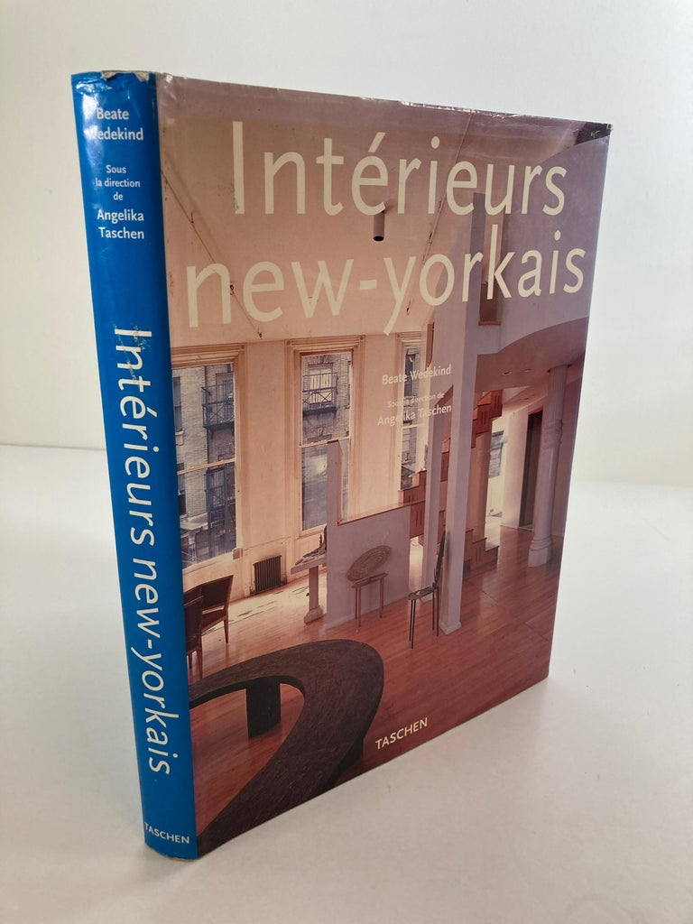American Interieurs New-Yorkais Hardcover Book by Angelika Taschen 1997 For Sale